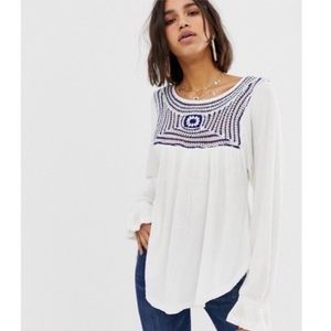 Free People Soul Mate Blouse NWT